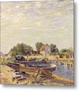 The Loing At Saint Mammes 1885 Metal Print