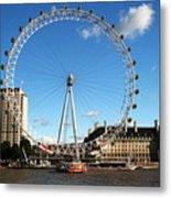 The London Eye 2 Metal Print