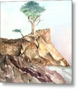 The Lone Cypress-monterey Ca Metal Print
