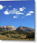 The Lonely Mountains Metal Print