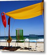 The Lonely Sea And The Sky Metal Print