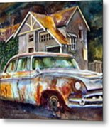 The Lonesome Hotel Metal Print