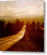 The Long And Lonely Road....... Metal Print