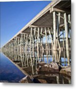 The Long Bridge Metal Print