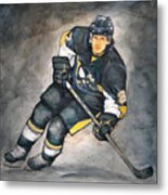 The Look Of A Champion Metal Print