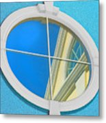 The Looking Glass Metal Print