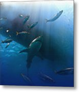 The Lord Of The Ocean Metal Print