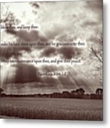 The Lords Blessing Metal Print