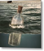 The Lost World In A Bottle Metal Print