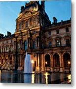 The Louvre Palace Metal Print
