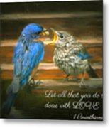 The Love Of A Father Metal Print