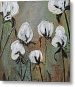 The Love Of Cotton Metal Print