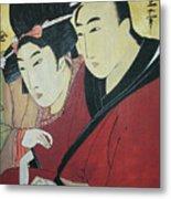 The Lovers Ohan And Chomon  Metal Print