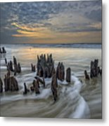 The Lowcountry - Botany Bay Plantation Metal Print