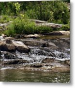 The Lower Yough River Metal Print