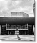The Lowry Art And Entertainment Complex Salford Quays Manchester Uk Metal Print