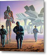 The Loyalists Metal Print