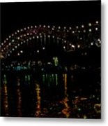 The M Bridge Metal Print