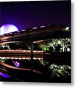 The Magic Of Epcot Metal Print