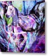 The Magic Of Horses Metal Print