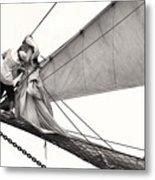 The Magic Of Sail Metal Print