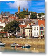 The Magic Of St. Peter Port In Guernsey Metal Print
