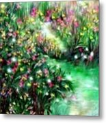 The Magical Garden Metal Print