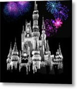 The Magical Kingdom Castle Metal Print
