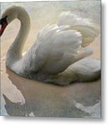 The Magical Swan  Metal Print