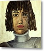 The Maid Of Orleans Metal Print