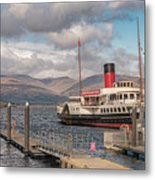 The Maid Of The Loch Metal Print