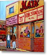 The Main Steakhouse On St. Lawrence Metal Print