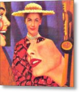 The Man In Her Life Paid More Attention To Ruby Hatfield After She Bought That New Dress Metal Print