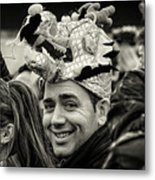 The Man In The Dragon Hat Metal Print