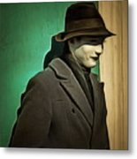 The Man In The Hat Metal Print