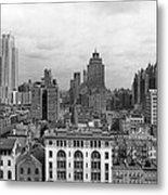 The Manhattan Skyline Metal Print