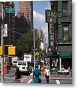 The Manhattan Sophisticate Metal Print