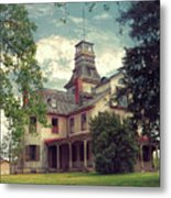The Mansion Metal Print