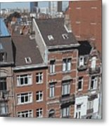 The Many Layers Of Brussels Metal Print