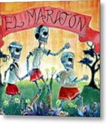 The Marathon Metal Print