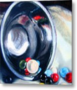 The Marble Bowl Metal Print