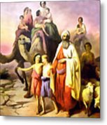 The March Of Abraham Metal Print