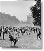 The March On Washington  Heading Home Metal Print