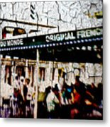 The Market Metal Print