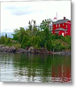 The Marquette Lighthouse Metal Print