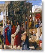 The Marriage At Cana Metal Print
