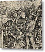 The Martyrdom Of St. Catherine Of Alexandria Metal Print
