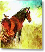 The Marvelous Mare Metal Print