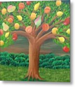 The Marzipan Tree Metal Print