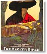 The Masked Rider 1919 Metal Print